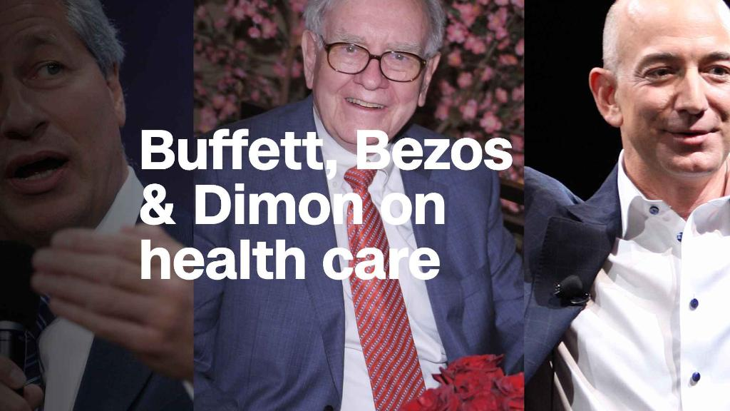 Jeff Bezos and 2 friends just spooked health care stocks