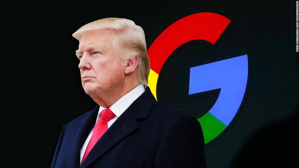 President says Google shows 'bad' stories when users search 'Trump news,' vows it will be addressed