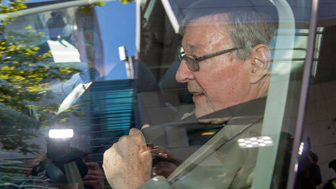 Australian Cardinal Pell convicted of molesting 2 choirboys