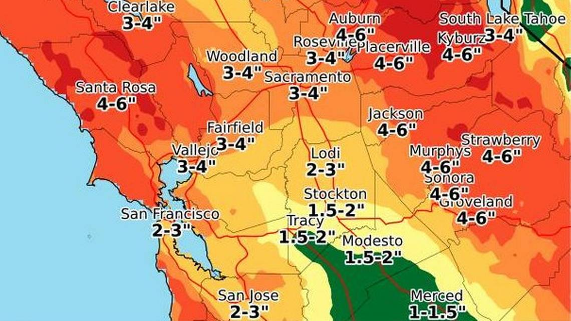 Flood watch ahead for Modesto as rain hits already wet soil