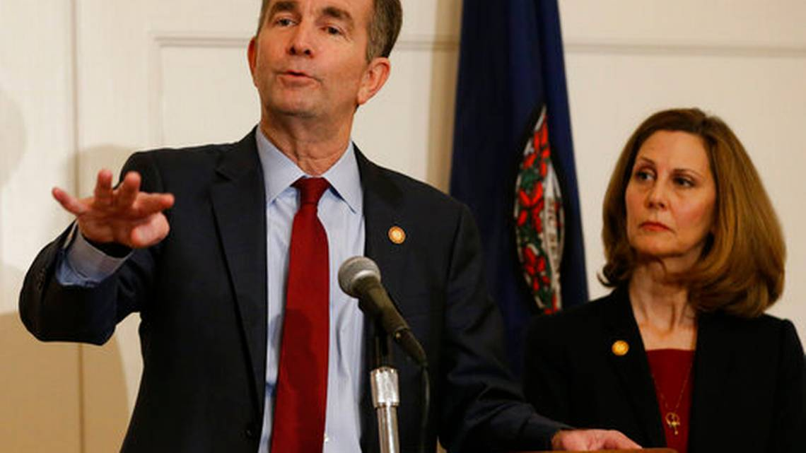 Virginia governor clings to office, ignoring calls to resign