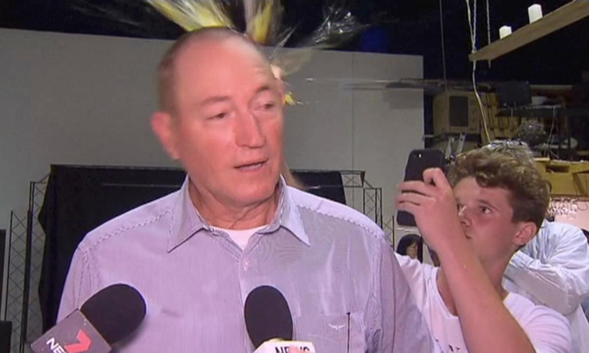 Australian premier sides with egger against egged senator