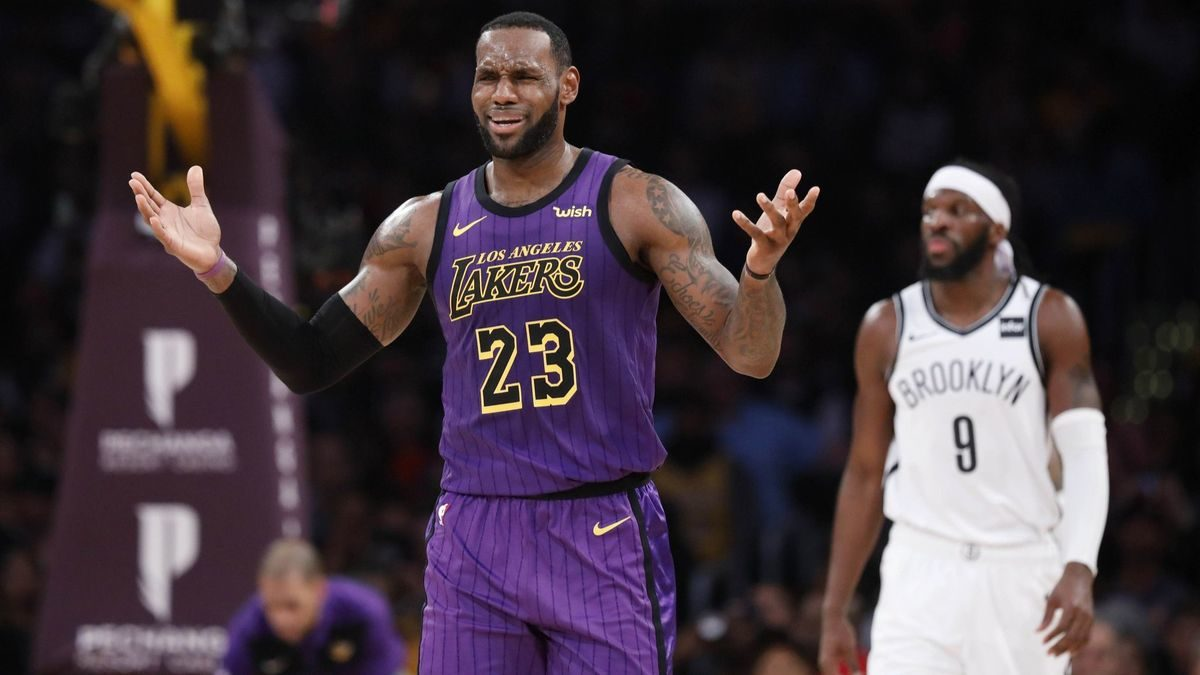 Lakers officially eliminated from playoff contention after 111-106 loss to Nets