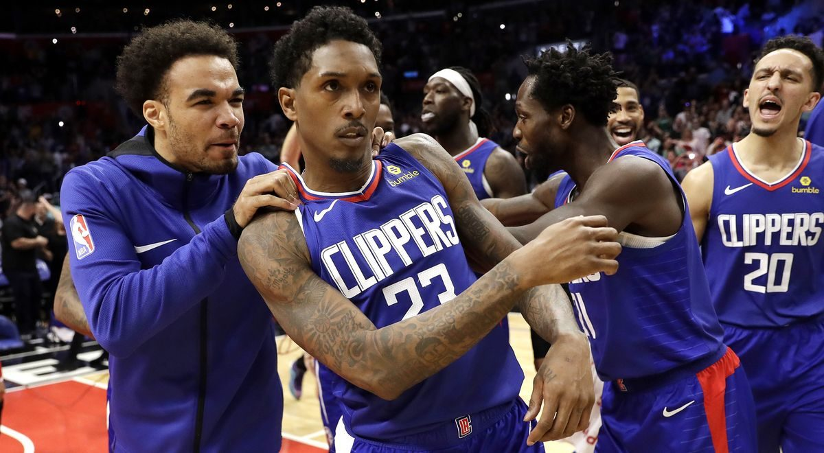Lou Williams' buzzer-beating three-point shot lifts Clippers to win over Nets