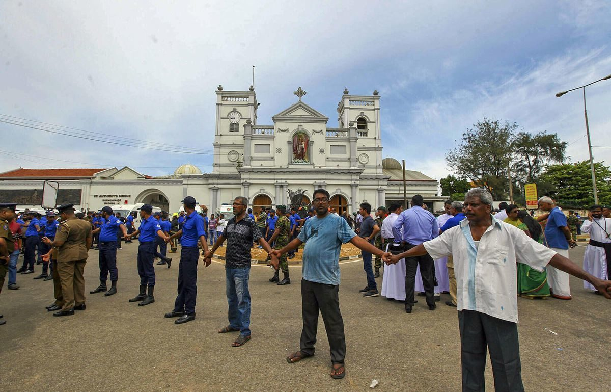 290 killed in Easter Sunday explosions in Sri Lanka. Americans are among the dead