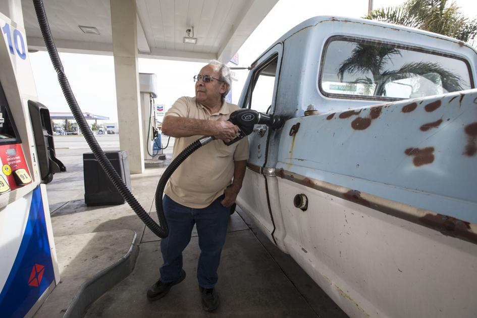 Good, bad news hit California's gasoline market