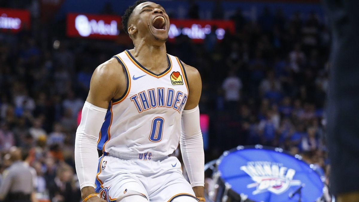 Russell Westbrook second to record 20-20-20 game in win over Lakers