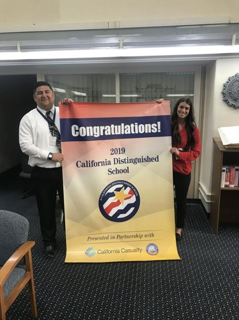 Three Kern County schools receive Distinguished School banner