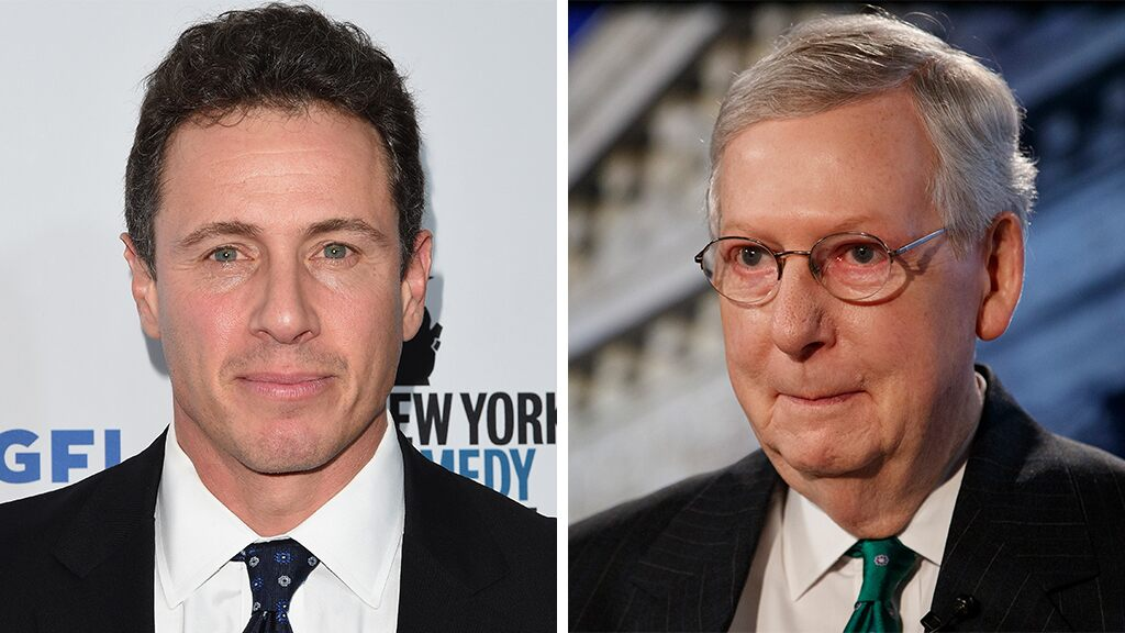 CNN's Chris Cuomo blasts McConnell over Supreme Court comment, tries to encourage viewers to vote him out