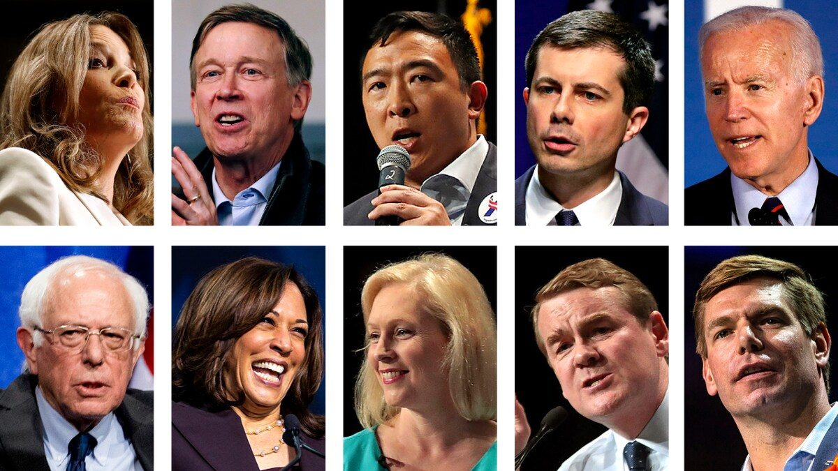 Democratic debate live chat: Heated exchanges between candidates on Night 2