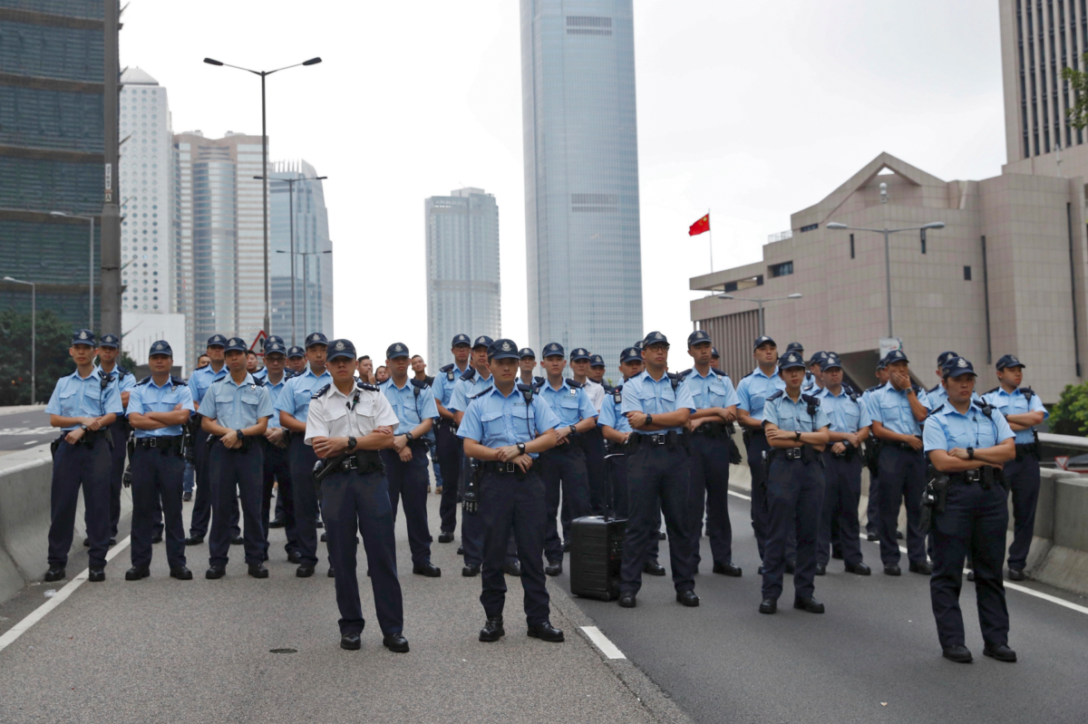 The Latest: Protesters refuse to leave Hong Kong streets