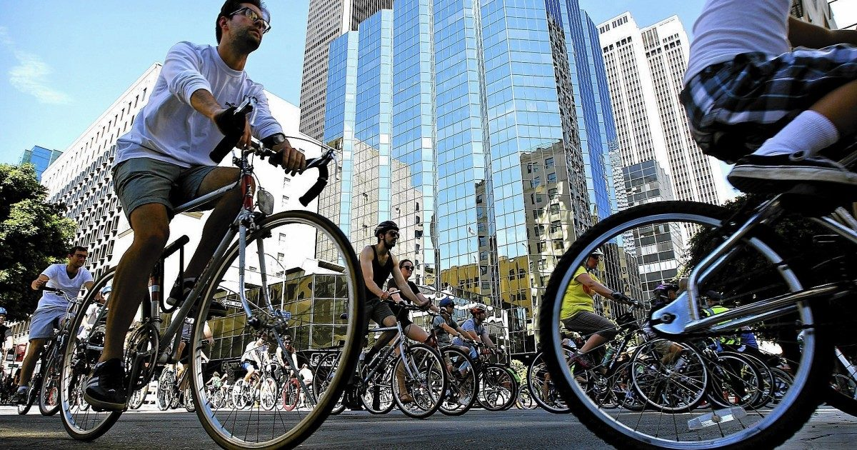 CicLAvia heads to Hollywood for daylong open-street festival