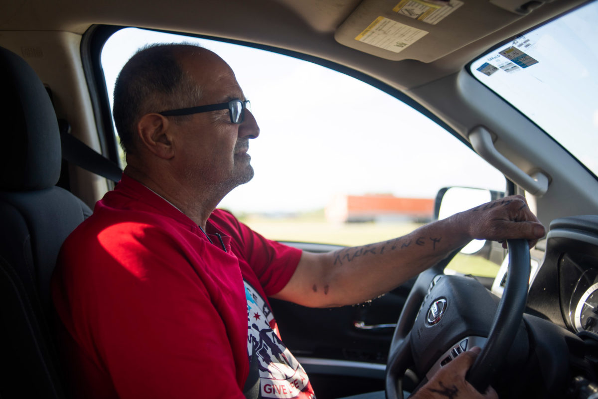 For 23 years, he's brought crosses after massacres. This was his hardest week yet
