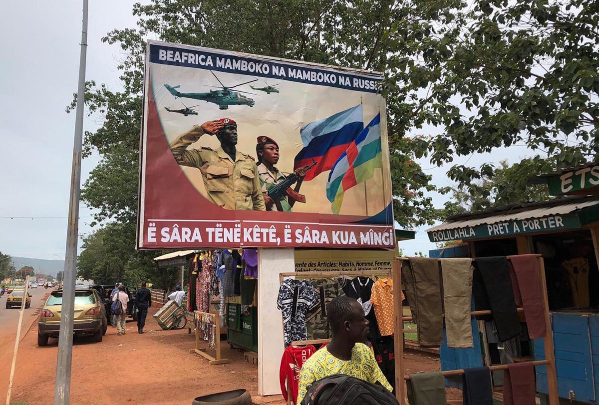 Russia is tightening its grip on Africa, but Moscow doesn't want to admit it