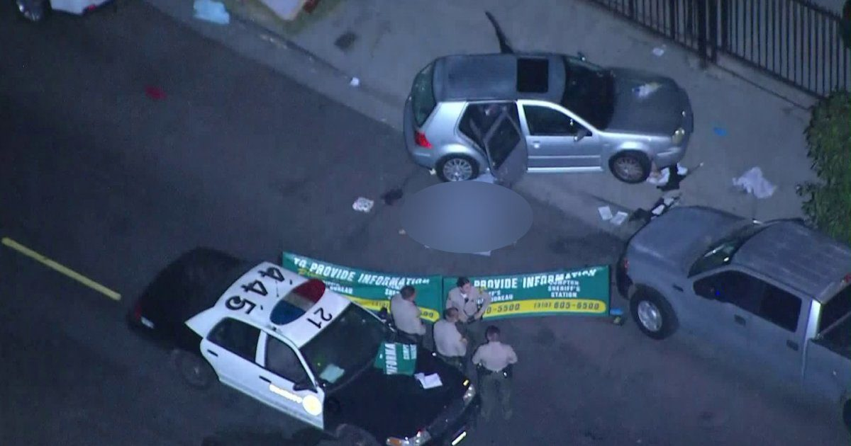 Two men dead and one wounded in shooting in South L.A.