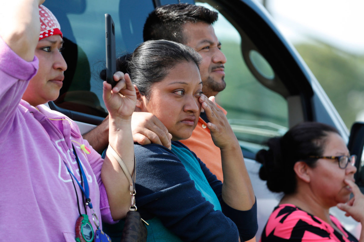 When the immigration raids were over, only the kids remained