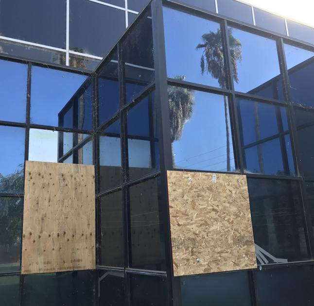 Vandal shoots, destroys seven windows at Southwest branch library