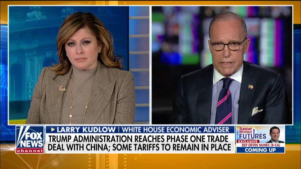 Trump economic adviser Larry Kudlow: 'President Trump showed us how to bargain'