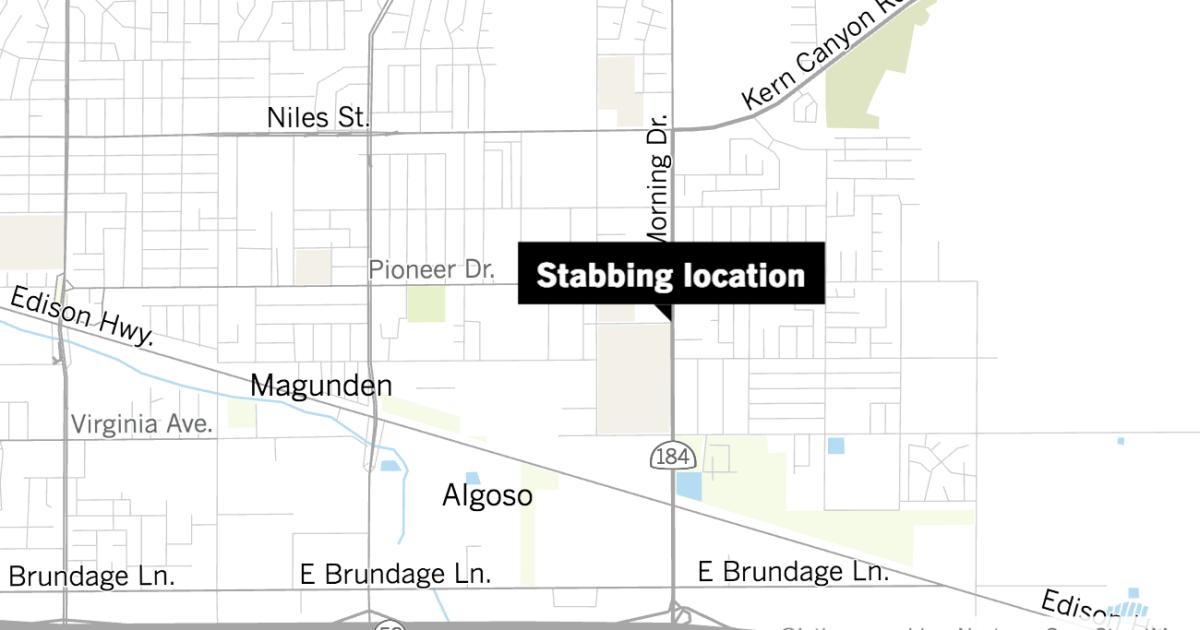 Teenage boy killed in knife fight in Bakersfield