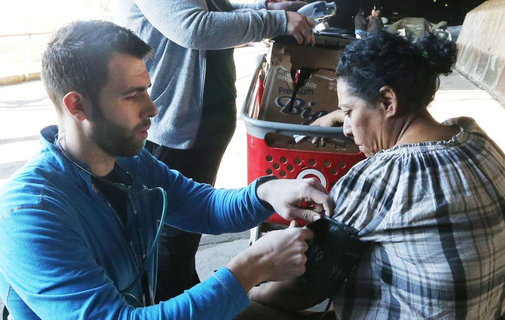 Boots on the ground: 'Street medicine' team serving Bakersfield's homeless