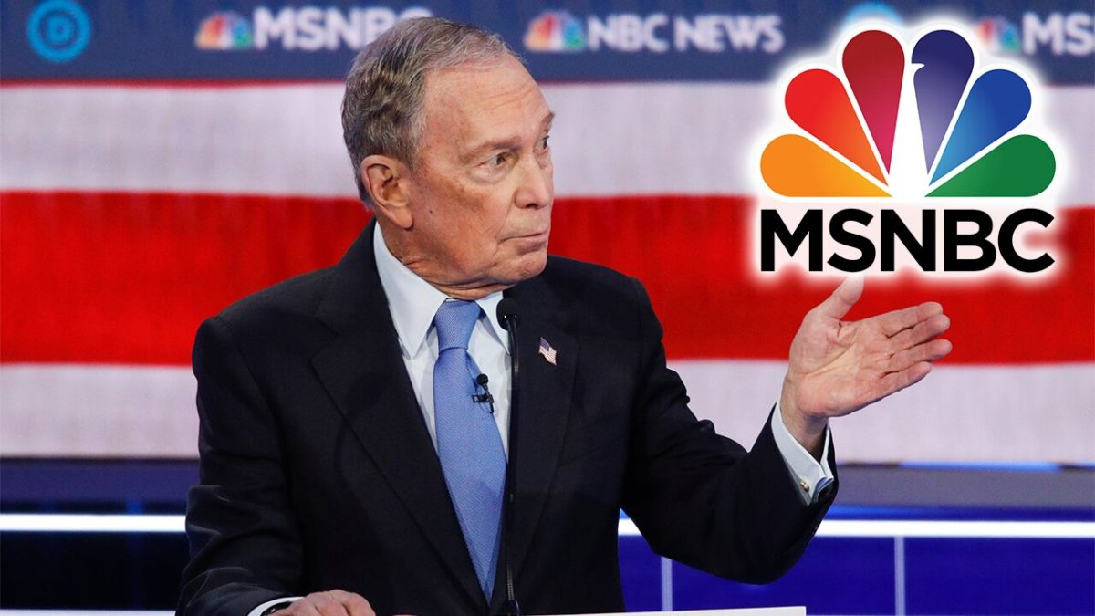 MSNBC sounds the alarm on Bloomberg's 'doctored' debate video mocking 2020 Dems