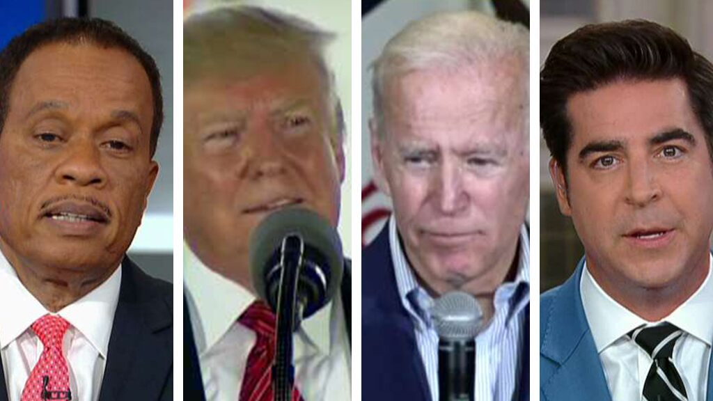Who 'unsettled' who? Jesse Watters and Juan Williams disagree on Trump and Biden's verbal sparring