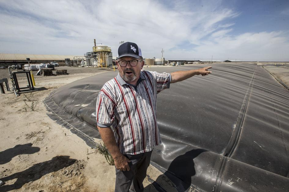 With state's help, Kern dairies turn cow manure into clean energy