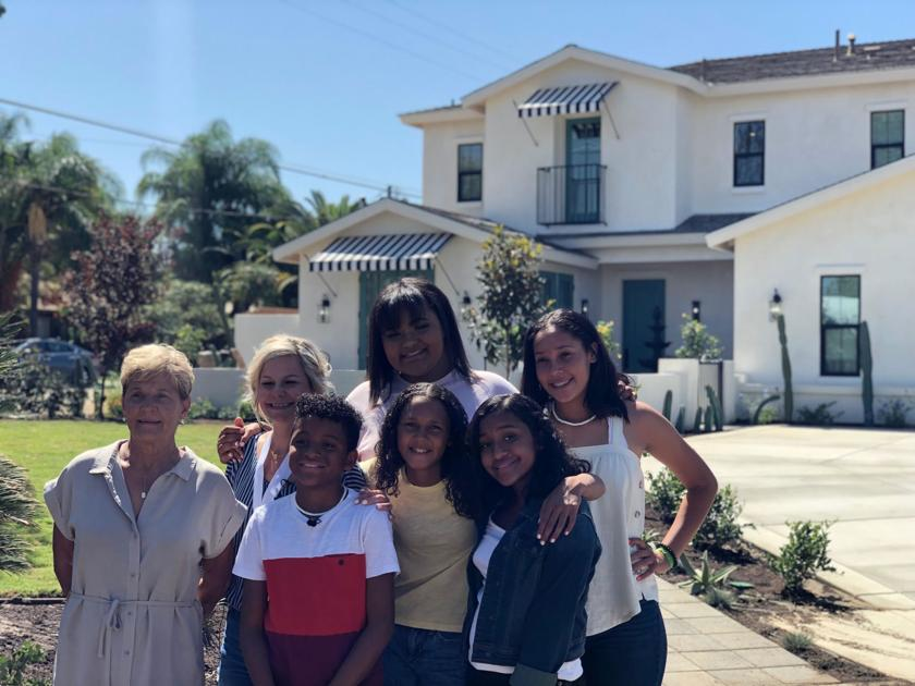 Home sweet home: Mosley family still can't believe their 'Extreme Makeover' house is theirs