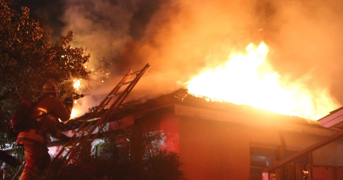 73-year-old woman dies in Granada Hills fire