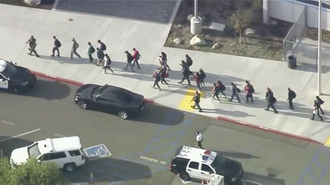 Student opens fire in California high school, killing 2