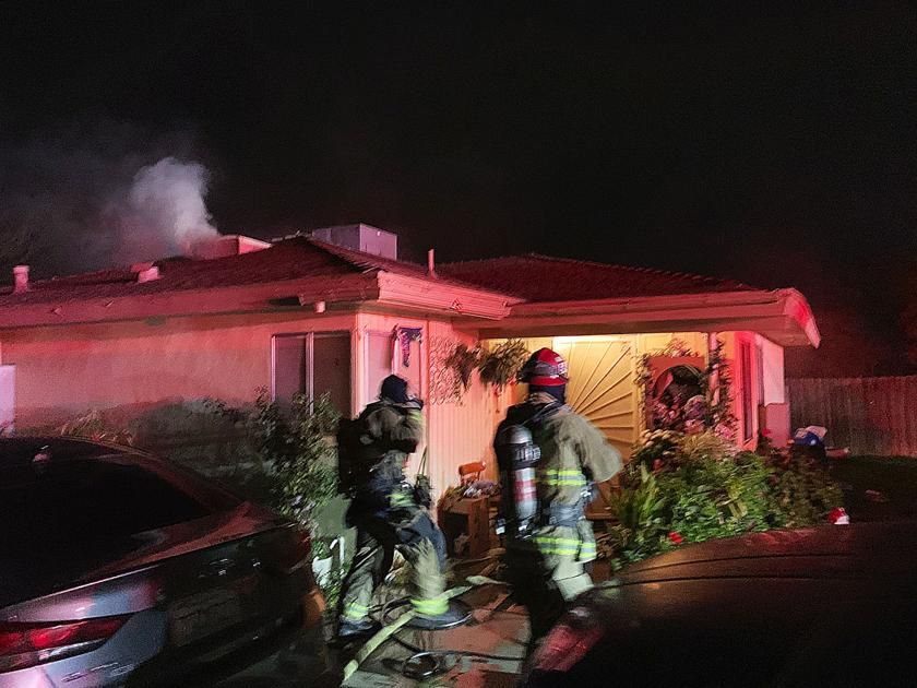 One minor injury in early Monday house fire in east Bakersfield
