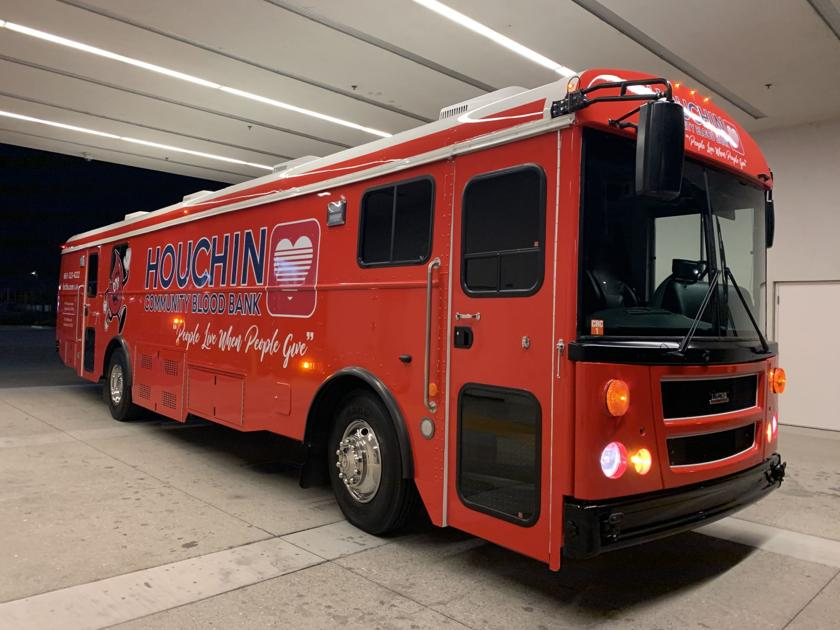 Houchin Community Blood Bank to unveil the 'Big Red Bus'